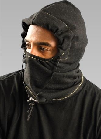 OccuNomix 1070FR Premium Flame Resistant 3-in-1 Fleece Balaclava, Hard Hat Attachment, Meets ASTM F1506 Arc Rating: ATPV = 9.7 cal/cm², NFPA 70E / HRC = 2