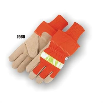 Majestic 1960  High Visibility Split Pig Winter Lined Glove