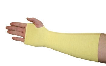 West Chester 100% Kevlar, Two-Ply Tubular Knit Sleeve - With Thumb Slot