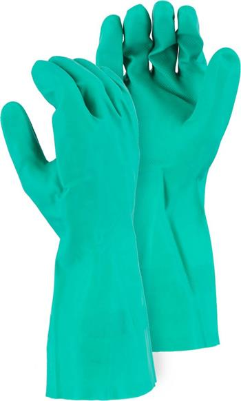 Majestic 3245 Nitrile flock lined glove