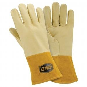 "West Chester IronCat 6021 Heavyweight Top Grain Pigskin MIG Welding Gloves, Kevlar Sewn, 4"" Cuff, Box/ 6 Pairs"