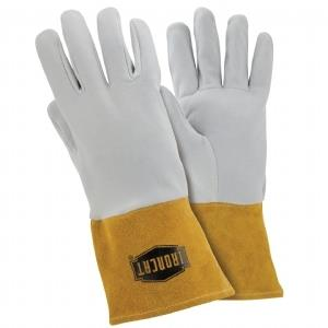 "West Chester IronCat 6130 Deerskin Split Leather TIG Welding Gloves, Kevlar Sewn, 4"" Cuff, Box/6 Pairs"