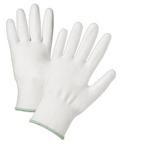 West Chester 720DWU, White Polyurethane Coated Gloves, Cut Resistant HPPE Fiber, 10X Stronger than Steel - Gloves