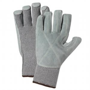 West Chester 730TGLP, Taeki 5™ Leather Palm Glove, EN Cut Level 5; ANSI Cut 4, 2113 gms & High Abrasion Resistance, Heat Contact Resistant, Kevlar Sewn, Box/Dozen Pairs