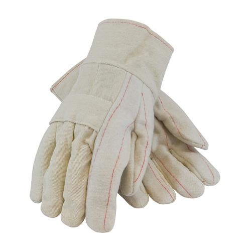 PIP  Canvas Hot Mill Glove, 24 Oz., Two Layers, Economy Grade, Band Top #94-924I