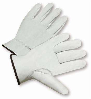 West Chester 991K, Premium Grain Goatskin Leather Drivers Gloves