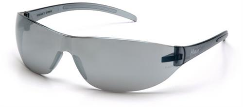 Pyramex S3270S Safety Glasses, Alair® Eyewear Silver Mirror Lens with Silver Mirror Frame
