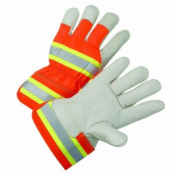 West Chester HVO5000 Hi-Vis Unlined Leathers