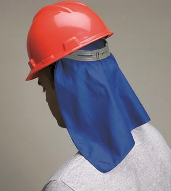 Allegro 8406-01 Economy Neck Shade, Attaches to Hard Hat