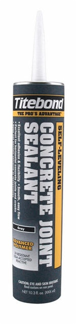 Titebond 3191 Self Leveling Concrete Joint Sealant - Gray 10.3 0z, Case/12