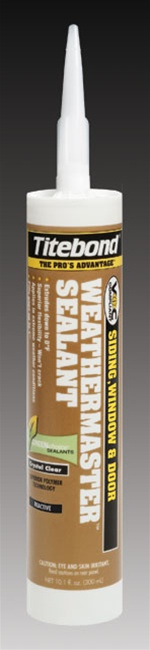 Titebond WeatherMaster Sealants - 45501 Off White
