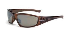CrossFire RPG 23117 Safety Glass HD Brown Mirror & Crystal Brown Frame, Box/12
