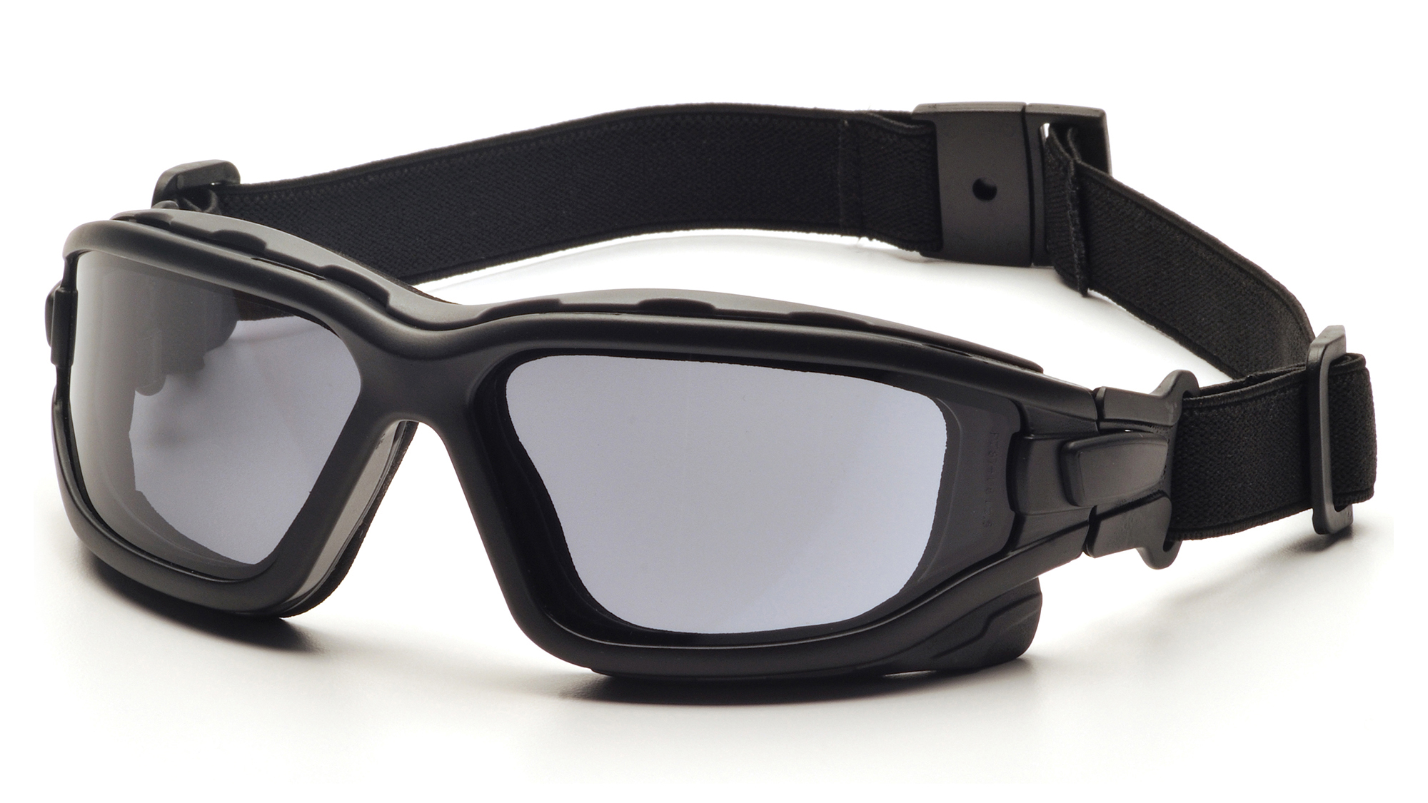 Pyramex SB7020SDT I-Force Safety Eyewear, Gray Dual Anti-Fog Lens with Black Temples / Strap, Box/12